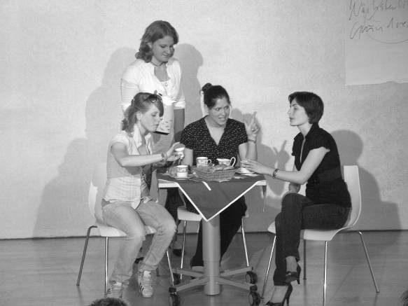 Unterstützung der eigenen Theatergruppe-AG