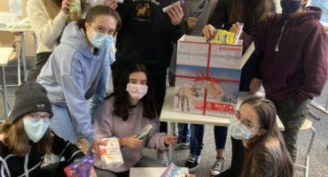 Carepakete vom Tulpenfeld - Hilfe für Osteuropa aus Fürstenfeldbruck